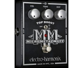 ELECTRO-HARMONIX Micro Metal Muff - Distortion with Top Boost - Série XO