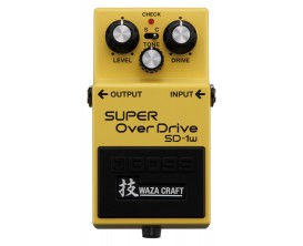 BOSS SD-1W - Super Distortion Waza Craft Special Edition (circuit analogique)
