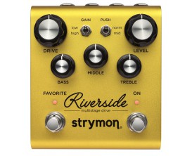 STRYMON RIVERSIDE Multistage Drive Tube Inspired Distortion
