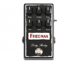 FRIEDMAN Dirty Shirley OD - Pédale Overdrive (basée sur ampli Dirty Shirley)