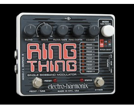 ELECTRO-HARMONIX Ring Thing - Single Sideband Ring Modulator - Série XO (Alim 9.6DC-200 fournie)