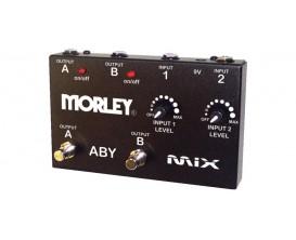 MORLEY ABY MIX - Pédale A/B/Y Box avec réglages de niveau séparés + LED