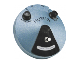 DUNLOP JHF1 - Pédale Fuzz Face Jimi Hendrix