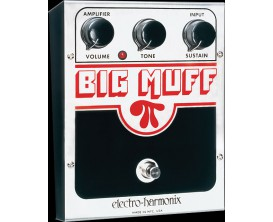 ELECTRO-HARMONIX Big Muff Pi Classic USA - Distortion/Sustainer - Série XO