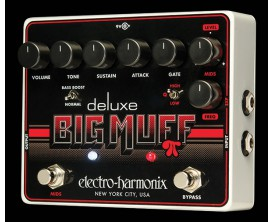 ELECTRO-HARMONIX Deluxe Big Muff Pi - Distortion/Sustainer - Série XO