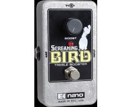 ELECTRO-HARMONIX Screaming Bird - Treble Booster - Série Nano