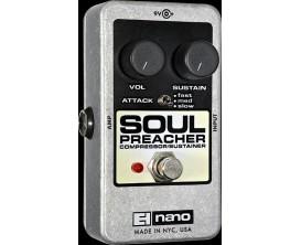 ELECTRO-HARMONIX Soul Preacher - Compressor/Sustainer - Série Nano