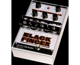 ELECTRO-HARMONIX Black Finger - Optical Tube Compressor - Série XO (Alim 12AC-1000 fournie)