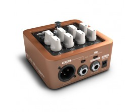PALMER Pocket Amp Acoustic - Preampli guitare acoustique compact, sortie DI