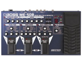 BOSS ME-50B Bass Multi Effects Processor
