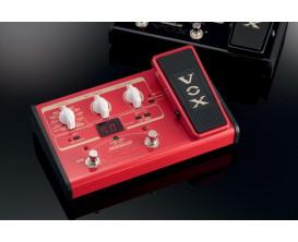 VOX Stomplab II Basse - Multi-effets compact sur piles avec pédale d'expression