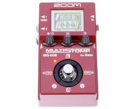 ZOOM MS-60B - Multi effets basse compact, Format pédale