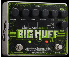 ELECTRO-HARMONIX Deluxe Bass Big Muff Pi - Distortion/Sustainer - Série XO