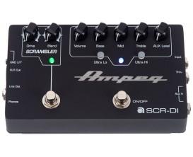 AMPEG SCR-DI - Bass DI avec Overdrive Scrambler