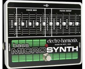 ELECTRO-HARMONIX Bass Microsynth - Analog/Synthesizer - Série XO (Alim 9.6DC-200 fournie)