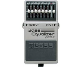 BOSS GEB-7 7-Band EQ for bass