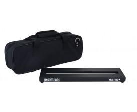 PEDALTRAIN PT-NPL-SC Nano + - Pedalboard 45.7x12.7x3.5 cm, avec softcase