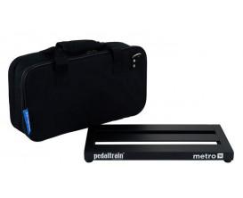 PEDALTRAIN PT-M16-SC Metro 16 SC - Pedalboard 40.6x20.3x3.5 cm, avec softcase