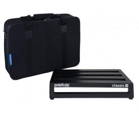 PEDALTRAIN PT-CLJ-SC Classic JR SC - Pedalboard 45.7x31.7x8.9 cm, avec softcase