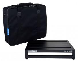 PEDALTRAIN PT-N18-SC Novo 18 SC - Pedalboard 45.7x36.8x8.9 cm, avec softcase