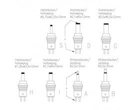 ANSMANN APS600 - Alimentation secteur universelle, 3 à 12 Volts, max 600mA 7.2w, Multi embouts, polarité + / -
