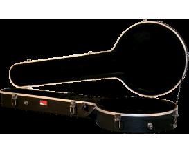 GATOR GC-BANJO-XL - Etui en ABS Deluxe pour banjo, grand modèle