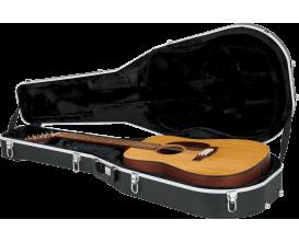 GATOR GCDREAD-12 - Etui en ABS Deluxe pour guitare folk Dreadnought 12 cordes