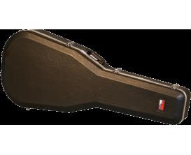 GATOR GC-JUMBO - Etui en ABS Deluxe pour guitare acoustique, format Jumbo