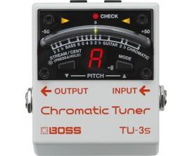 BOSS TU-3S Guitar Tuner compacte