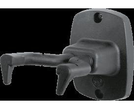 K&M 16240 - Support de guitare mural, serrage flexible