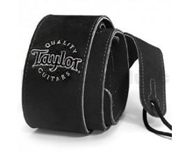 TAYLOR 62001 Suede Guitar Strap, Black