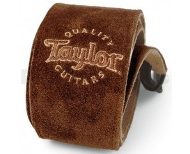 TAYLOR 62003 Suede Guitar Strap, Chocolate (idem 60002)