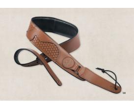 TAYLOR 63002 - Guitar basket weave strap Tan