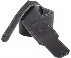 BOSS BSL-25-BLK Sangle en cuir noir 2,5""