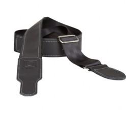 BOSS BSH-20-BLK Sangle ceinture de sécurité/ cuir noir