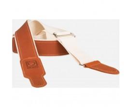 BOSS BSH-20-NAT Sangle Coton nturel / cuir brun