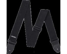 DUNLOP D07-01BK - Courroie guitare économique, nylon, noir