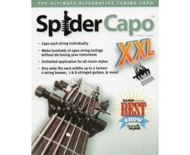 SPIDERCAPO SCX XXL - Capodastre Extra Large à 6 leviers indépendants *