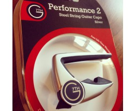 G7TH Performance 2 Capo 6 cordes Steel (Curved)