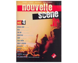 LIBRAIRIE - Nouvelle Scène.fr Vol. 4 (Piano, chant, guitare tab) - Hit Diffusion