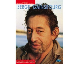 LIBRAIRIE - Collection Grands Interprètes - Serge Gainsbourg (Piano, Chant, Guitare) - Ed. Carisch