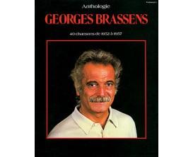 Anthologie Georges Brassens (Piano, chant, guitare) - 40 Chansons de 1952 à 1957 - Ed. Carisch