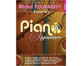 LIBRAIRIE - Michel Polnareff Piano Signature vol. 1 (CD inclus) - Paul Beuscher