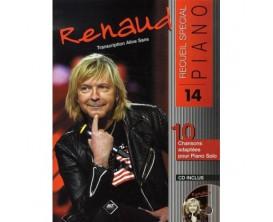 LIBRAIRIE - Renaud Recueil Special Piano Vol. 14 (Avec CD) - Ed. Hit Diffusion