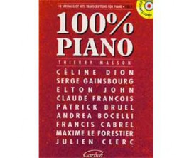 100% Piano Vol 1 (Avec CD) - Carisch Music