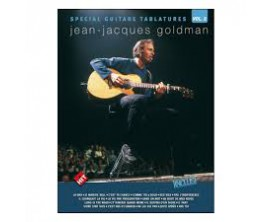 LIBRAIRIE - Jean-Jacques Goldman Special Guitare Tablatures vol.2 - Hit Diffusions