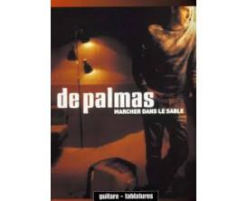 LIBRAIRIE -De Palmas Marcher dans le Sable (guitare tablatures) - Ed. Musicales Françaises