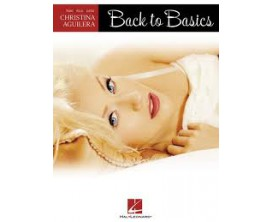 LIBRAIRIE - Christina Aguilera Back to Basics (Piano, vocal, guitar) - Hal Leonard