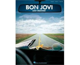 LIBRAIRIE - Bon Jovi Lost Highway (Piano, vocal, guitar) - Hal Leonard