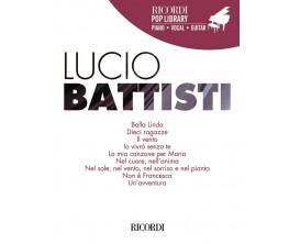 LIBRAIRIE - Lucio Battisti (Piano Vocal Guitar) - Editions Ricordi